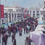 Lhasa, tržiště na Barkoru